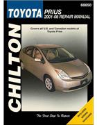 Toyota Prius 2001 - 2008 Chilton Owners Service & Repair Manual