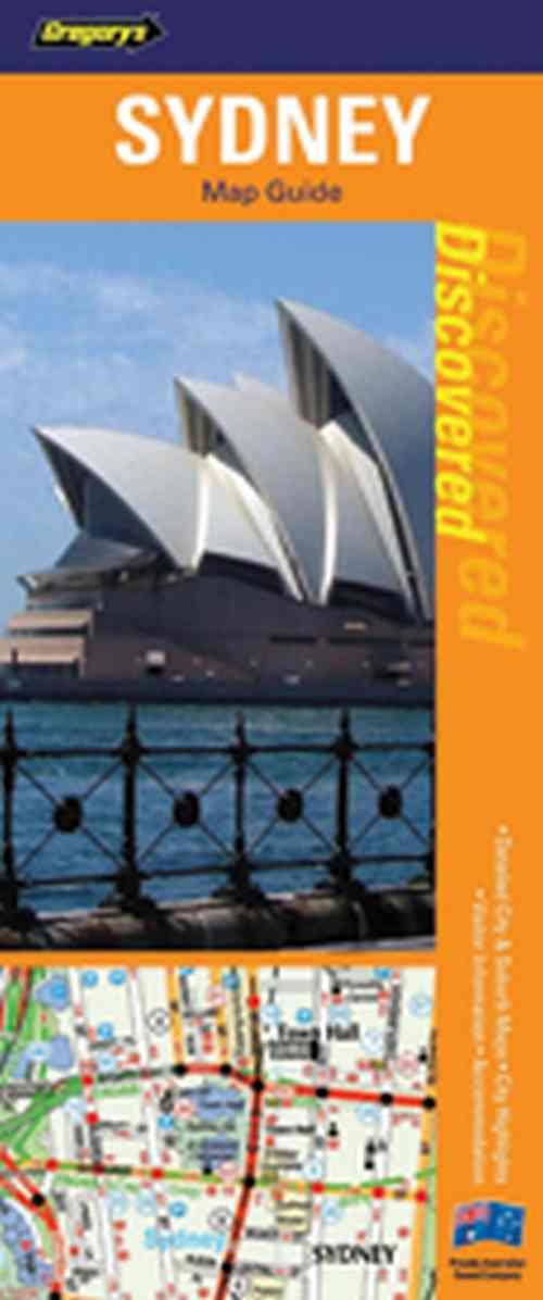 Discovered Sydney Flexi Map 202 (1st Edition) - Front Cover