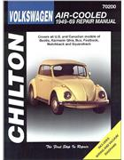 Volkswagen Beetle Air Cooled 1949 - 1969 Chilton Owners Service & Repair Manual
