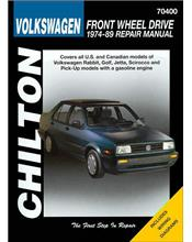 Volkswagen Front Wheel Drive 1974 - 1989 Chilton Owners Service & Repair Manual