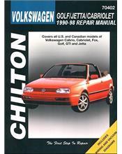 Volkswagen Golf, Jetta, Cabriolet 1990 - 1998