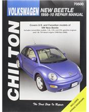 Volkswagen New Beetle 1998 - 2010 Chilton Owners Service & Repair Manual