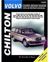 Volvo Coupes / Sedans / Wagons 1970 - 1989