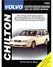 Volvo Coupes, Sedans & Wagons 1990 - 1998