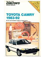 Toyota Camry 1983 - 1992 Chilton Owners Service & Repair Manual