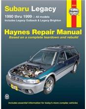 Subaru Legacy 1990 -1999 Haynes Owners Service & Repair Manual