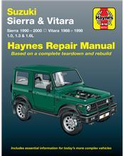 Suzuki Sierra & Vitara 1990 - 2000 Haynes Repair Manual
