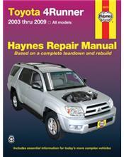 Toyota 4Runner 2003 - 2009 Haynes Owners Service & Repair Manual