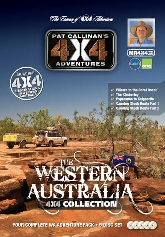 Western Australia 4X4 Collection 5 DVD Set - Front Cover