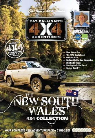 New South Wales 4X4 Collection 7 DVD Set - Front Cover