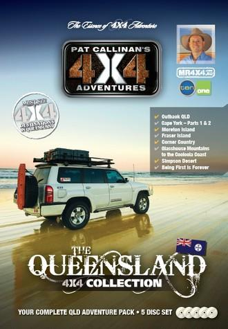 Queensland 4X4 Collection 5 DVD Set - Front Cover