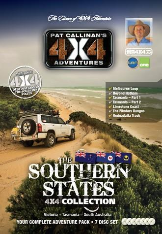 Southern States 4X4 Collection 7 DVD Set - Front Cover