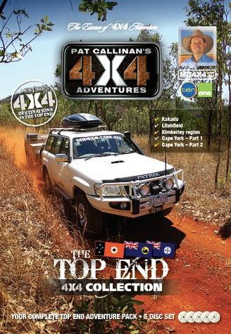 Top End 4X4 Collection 5 DVD Set - Front Cover