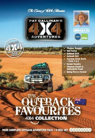 Outback Favourites 4x4 Collection 8 DVD Set - Front Cover