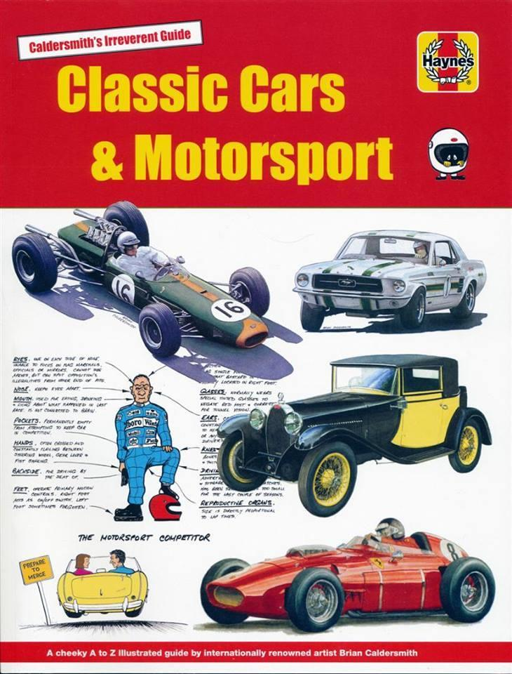 Classic Cars & Motorsport : Caldersmith's Irreverent Guide - Front Cover
