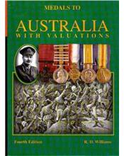 Medals To Australia With Valuations 4th Edition