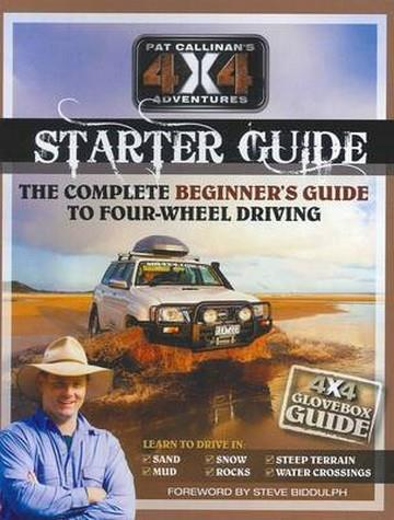 Pat Callinan's 4X4 Adventures Starter Guide - Front Cover