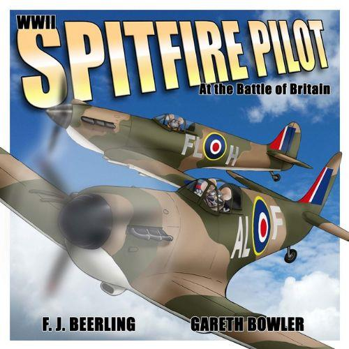 WWII Spitfire Pilot - Front Cover