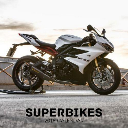 Superbikes 2018 Calendar - Front Cover