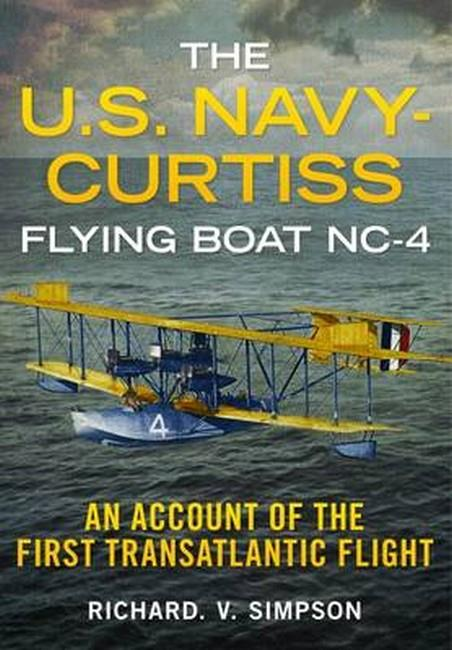 U.S. Navy-Curtiss Flying Boat NC-4 - Front Cover