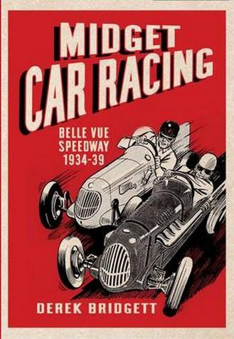 Midget Car Racing - Front Cover
