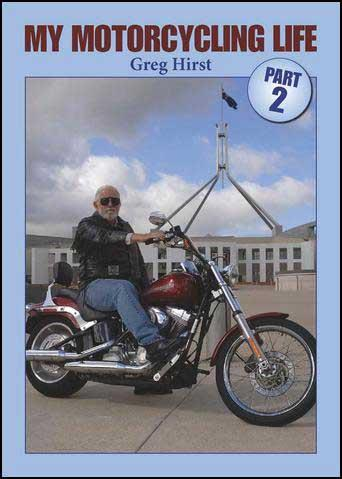 My Motorcycling Life Part 2 - Front Cover
