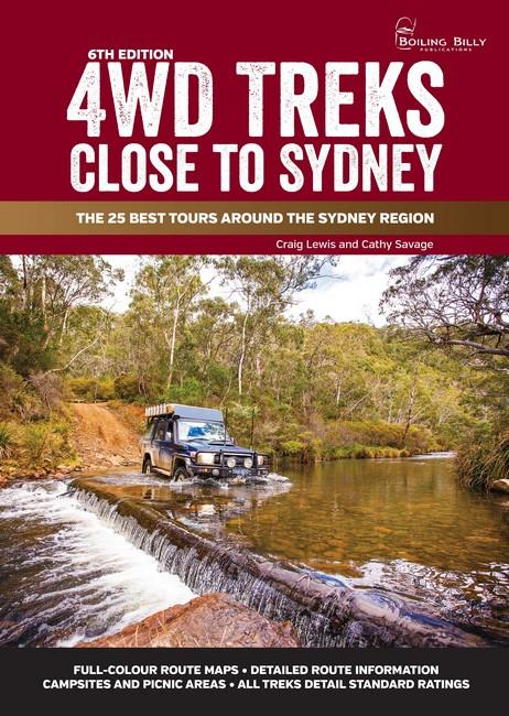 4WD Treks Close To Sydney 6/e A4 Spiral Bound - Front Cover