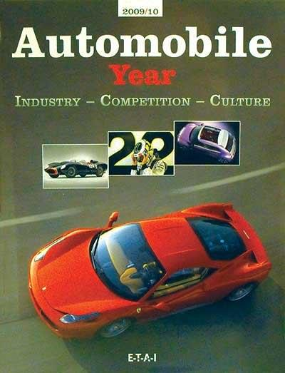 Automobile Year 2009 - 2010 (No. 57) - Front Cover