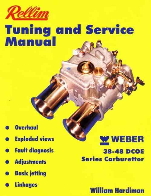 Rellim Weber 38-48 DCOE Series Carburettor Tuning and Service Manual - Front Cover