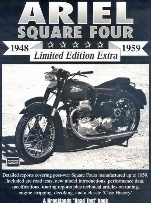 Ariel Square Four 1948 - 1959 Limited Edition Extra - Front Cover