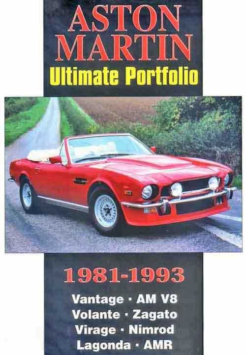 Aston Martin Ultimate Portfolio 1981 - 1993