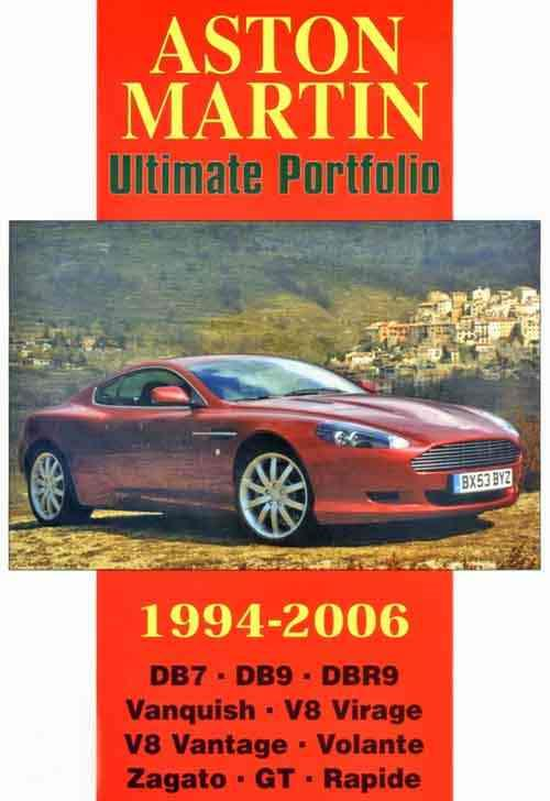 Aston Martin Ultimate Portfolio 1994 - 2006 - Front Cover