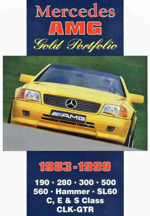 Mercedes AMG Gold Portfolio 1983 - 1999 - Front Cover