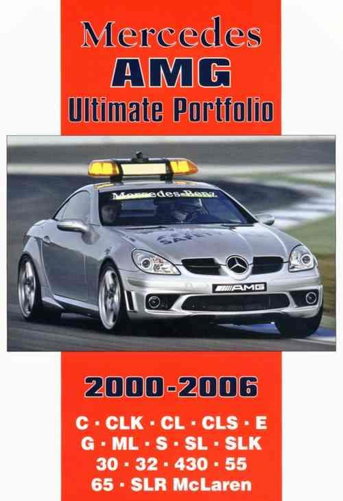 Mercedes AMG Ultimate Portfolio 2000 - 2006 - Front Cover