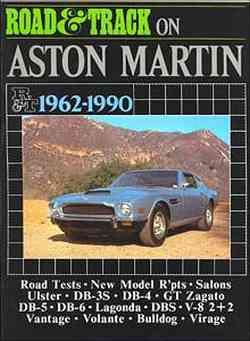 Road & Track on Aston Martin 1962 - 1990 - Front Cover