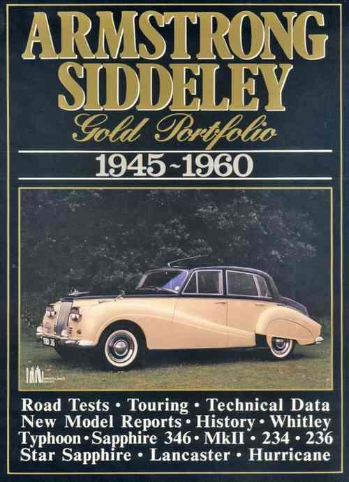 Armstrong Siddeley Gold Portfolio 1945 - 1960