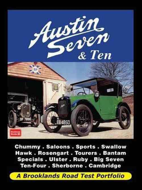 Austin Seven & Austin Ten Road Test Portfolio - Front Cover
