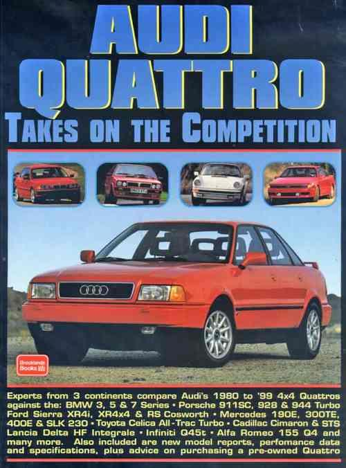 Audi Quattro Takes on the Competition - Front Cover