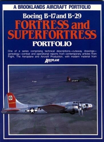 Boeing B-17 & B-29 Fortress & Super Fortress Portfolio - Front Cover