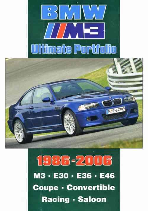BMW M3 Ultimate Portfolio 1986 - 2006 - Front Cover