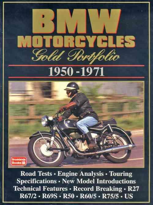BMW Motorcycles Gold Portfolio 1950 - 1971 - Front Cover