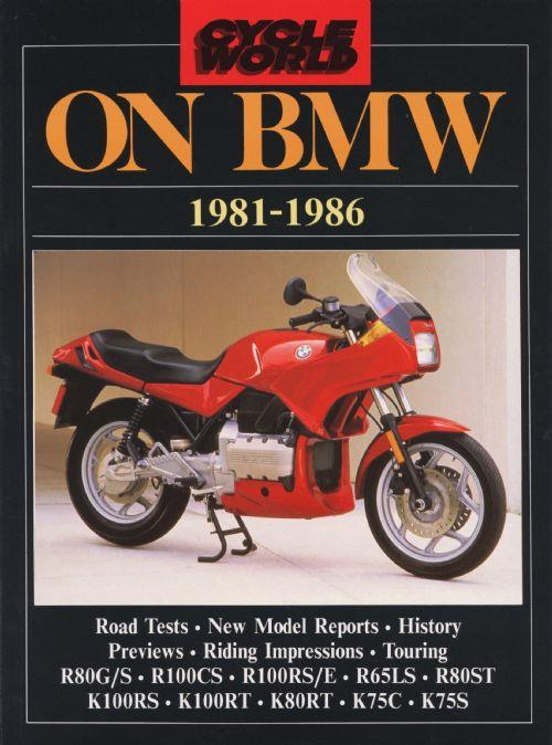 Cycle World on BMW 1981 - 1986 - Front Cover