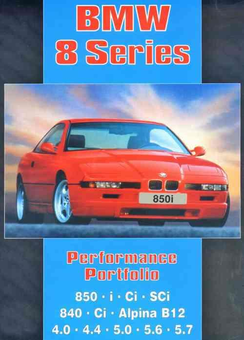 BMW 8 Series Performance Portfolio