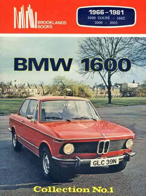 BMW 1600 Collection No. 1 1966 - 1981 - Front Cover