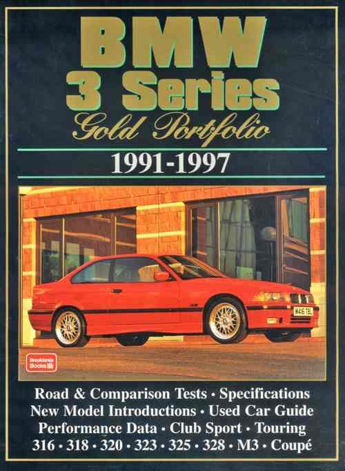 BMW 3 Series Gold Portfolio 1991 - 1997 - Front Cover