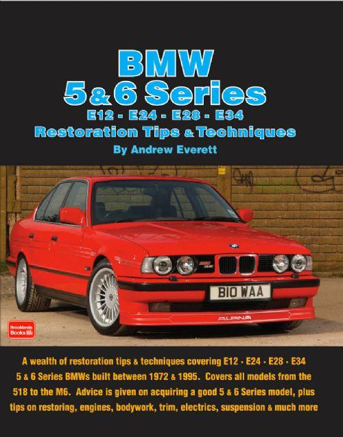 BMW 5 & 6 Series Restoration Tips & Techniques - Front Cover