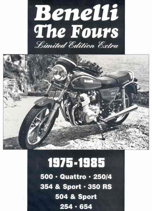 Benelli The Fours Limited Edition Extra 1975 - 1985 - Front Cover