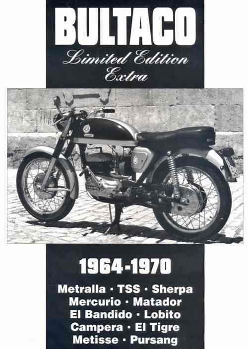 Bultaco Limited Edition Extra 1964 - 1970 - Front Cover