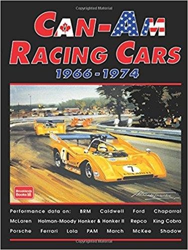 Can-Am Racing Cars 1966 - 1974 - Front Cover