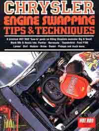 Chrysler Engine Swapping Tips & Techniques - Front Cover